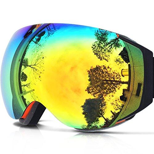 ZIONOR-Lagopus-X6-Sphrique-sans-cadre-Snowboard-Motoneige-Patinage-Lunettes-de-Ski-avec-Protection-UV-Anti-bue-Masque-de-ski