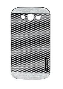 Stycoon INO Metal Back Case for Samsung Galaxy Grand i9082 - Black Web View On Silver