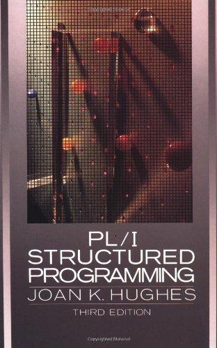 PL/I Structured Programming