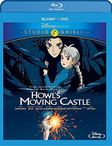 Howl's Moving Castle (Two-Disc Blu-ray/DVD Combo) by Walt Disney Home Entertainment Presents A Studio G