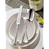 Sola Windsor Premium Steel 24 Pcs Cutlery Set (6 Pcs Dessert Spoon, 6 Pcs Dessert Fork, 6 Pcs Dessert Knife &...