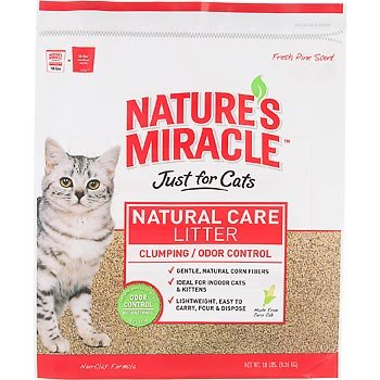 Natures Miracle Just For Cats Corn Cob Cat Litter