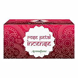 Aromafume Rose Petal Incense Bricks (Medium)
