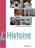 echange, troc Jacques Marseille, Collectif - Marseille : Histoire, 1ère, Bac L, ES