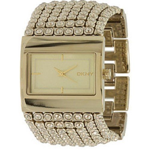 DKNY Women's NY4662 Gold Gold Tone Stainles-Steel Quartz Watch with Gold Dial