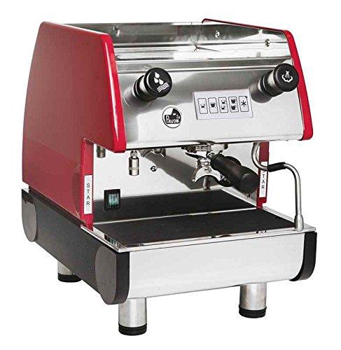 La Pavoni PUB 1V-R  - 1 Group Commercial Espresso Cappuccino machine, Red