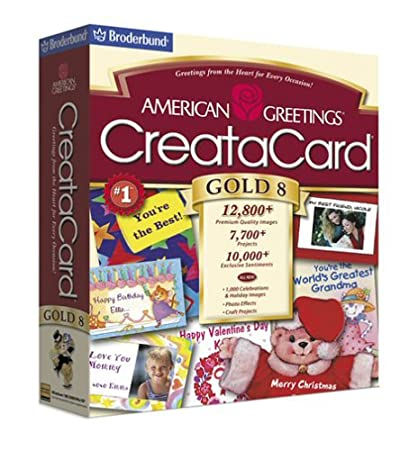 American Greetings Creatacard Gold 8  [OLD VERSION]