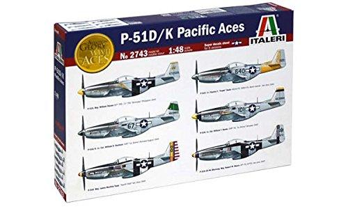 model-kit-modellino-aereo-p-51d-k-pacific-aces-scala-148-it2743-italeri