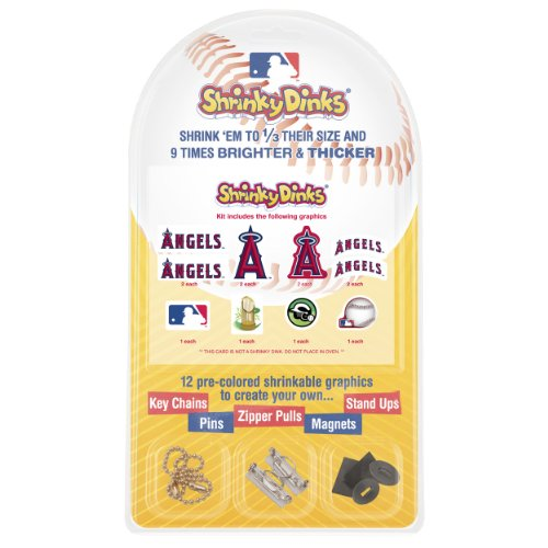 MLB LA Angels Shrinky Dinks