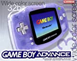 Game Boy Advance Konsole Clear Blue