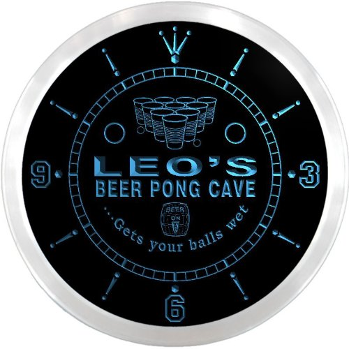 ncqr0168-b-leos-beer-pong-man-cave-bar-pub-led-neon-sign-wall-clock