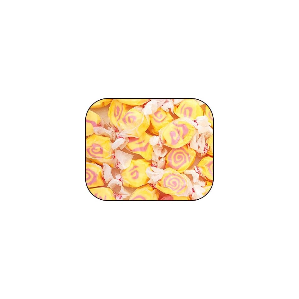Guava Pink & Yellow Gourmet Salt Water Taffy 1 Pound Bag