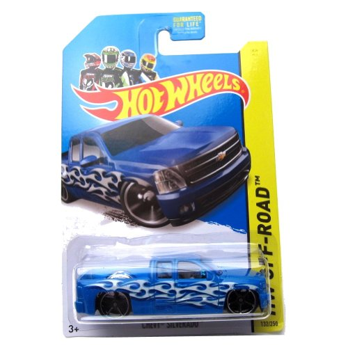 Hot Wheels Chevy Silverado 132/250 hw off-road 2014 hot trucks