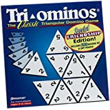 Tri-ominos; the Classic Triangular Domino Game; Special Friendship Edition (2002)