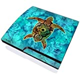 Sacred Honu Design Skin Decal Sticker For The Playstation 3 Ps3 Slim Console