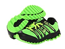 K-Swiss Tubes Run 100 Mesh Kids Sneakers Scream Green/Neon Citron 12 Little Kid