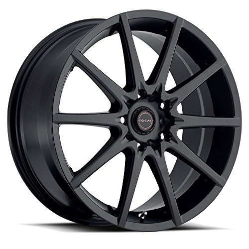 Focal F-04 16 Black Wheel / Rim 5x4.5 & 5x100 with a 42mm Offset and a 73 Hub Bore. Partnumber 428-6718SB+42 (Rims For 05 Mustang compare prices)