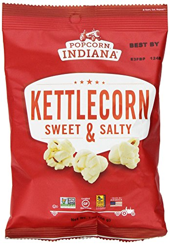 Popcorn Indiana Gourmet Original Popcorn Kettlecorn Popped 1 Oz. (Pack of 24) (Indiana Corn compare prices)