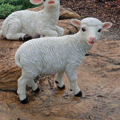 Design Toscano by Blagdon - Yorkshire Lamb Garden Statue: Standing Lamb