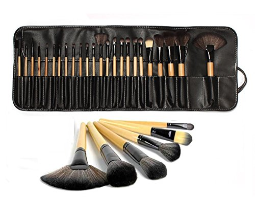 lydiar-uk-stock-professional-24pcs-natural-wooden-handle-black-brown-make-up-brush-set-with-case
