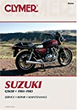 Suzuki Gs650 1981-1983 (0892873671) by Sales, David