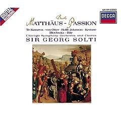 Bach, J.S.: St. Matthew Passion BWV 244 (3 CDs)