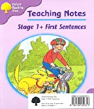 Oxford Reading Tree: Stage 1+: First Sentences: Pack (6 Books, 1 of Each Title) (Oxford Reading Tree)
