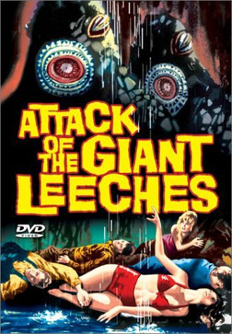 Attack of the Giant Leeches Cover