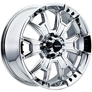 Ballistic Havoc 22×9.5 Chrome Wheel / Rim 8×180 with a 12mm Offset and a 130.80 Hub Bore. Partnumber 904095868+12C