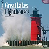 img - for Lighthouses, Great Lakes 2015 Square 12x12 book / textbook / text book