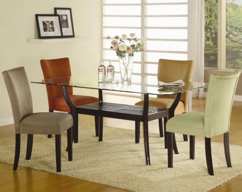 Picture of Coaster Furniture Bloomfield 5-Pc Dining Table Set by Coaster (101491+CB4272+4x101492) (Dining Tables)