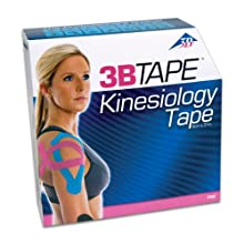 "3B Scientific Pink Cotton Kinesiology Tape, Bulk Roll, 2"" Width x 101' Length"