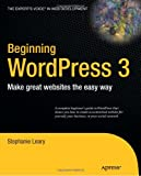 Beginning WordPress