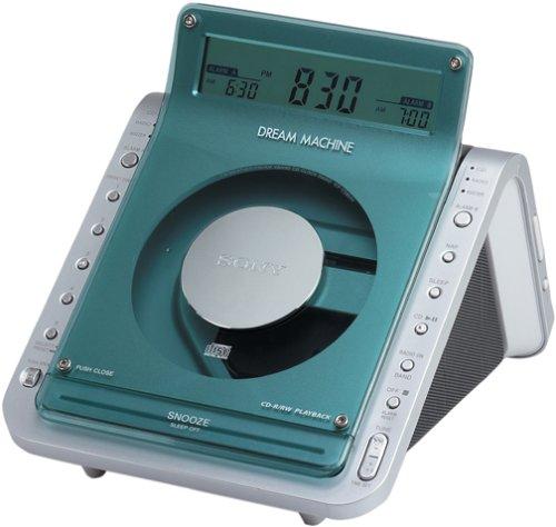 sony machine cd player alarm clock radio manual