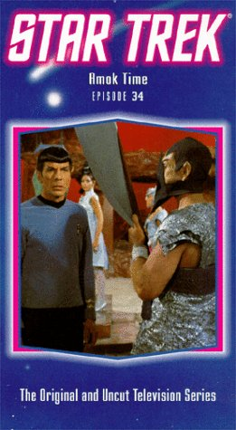 Star Trek - The Original Series, Episode 34: Amok Time [Vhs] front-1077656