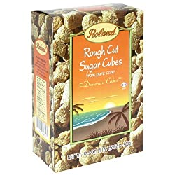 Roland Rough Cut Demerara Sugar Cubes - 17.5 oz
