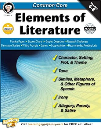 Common Core: Elements of Literature, Grades 6 - 8