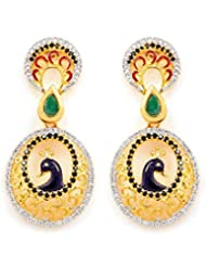 Akshim Multicolour Alloy Earrings For Women - B00NPY9G6M
