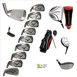 AGXGOLF: Mens Left Hand Magnum Tour Compitition Edition Golf Club Set; w OverSize... by AGXGOLF