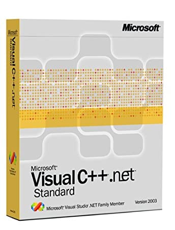 Microsoft Visual C++ .NET Standard 2003 [Old Version]