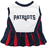 New England Patriots NFL Cheerleader Dress For Dogs - Size Small