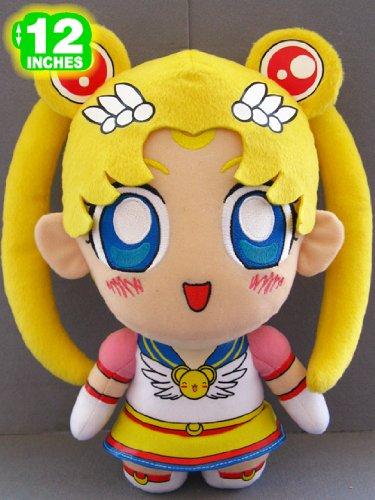 Sailor Moon Sailor Eternal Cute Chibi 12 Inches Plush Doll image
