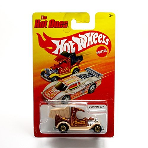 Dumpin' A (Brown) * The Hot Ones * 2011 Release of the 80's Classic Series - 1:64 Scale Throw Back HOT WHEELS Die-Cast Vehicle