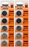 10 Pack Lithium Coin Battery - 3 Volt - For Keyless Entry and Remote Controls - CR2032 Size - Premium Quality Brand
