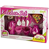 Mini Kitchen Play Set With Food (Pack Of 2)