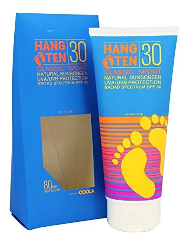 Hang Ten Classic Sport Body Sunscreen, SPF 30