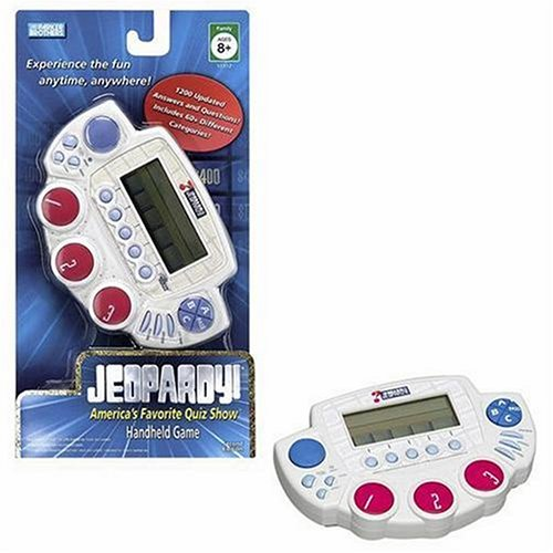 Jeopardy Handheld Game