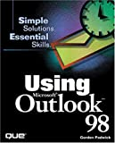 img - for Using Microsoft Outlook 98 book / textbook / text book