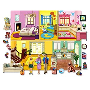 Lets Play House Doll Felt Set