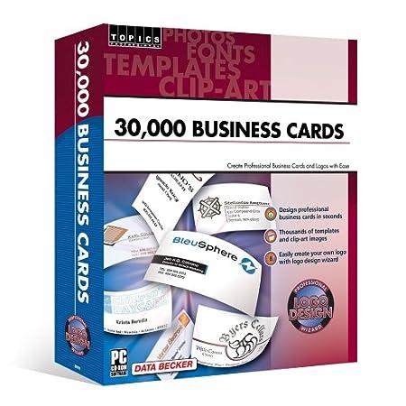 30,000 Business Cards & Logo Designer